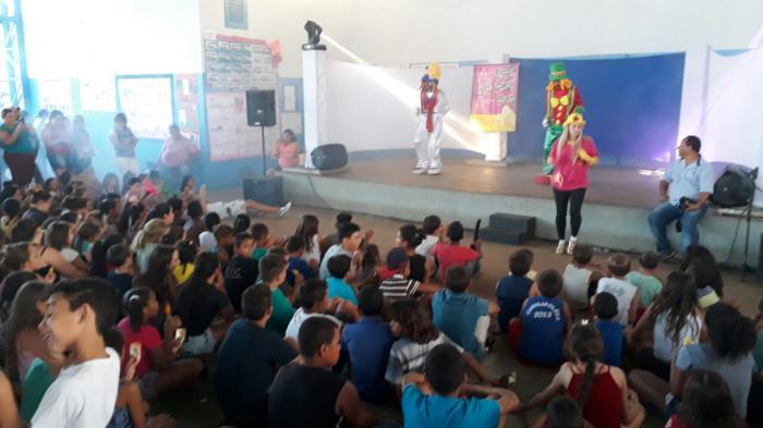 Festa do Dia da Criança Promovida Pela Prefeitura