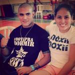 Lutadora de MMA compete grávida, mas só descobre depois
