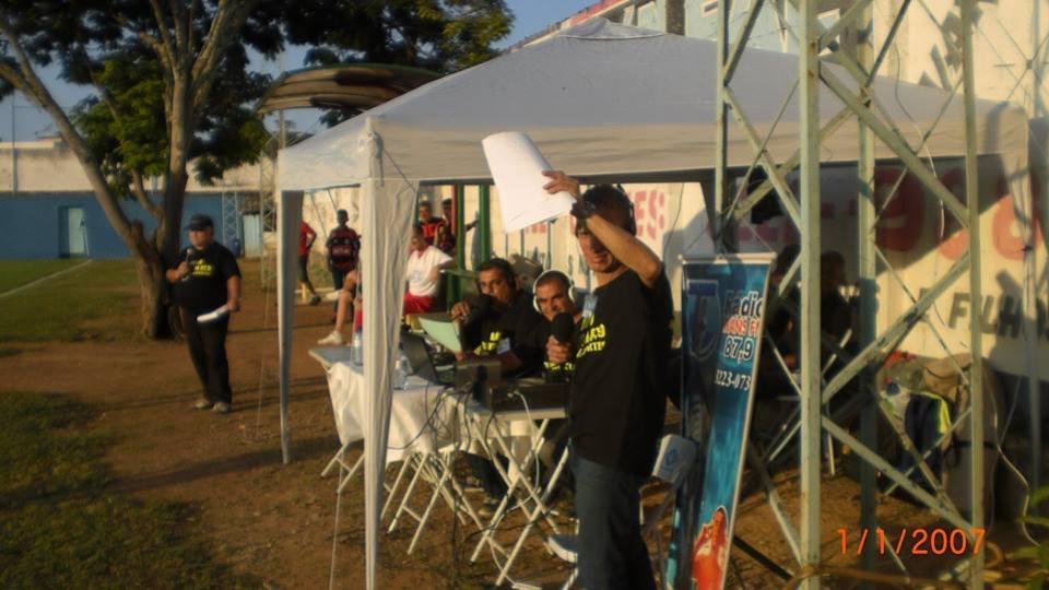 RÁDIO TRANS FM 87,9 - EQUIPE SHOW DE BOLA FUTEBOL CLUBE 2015