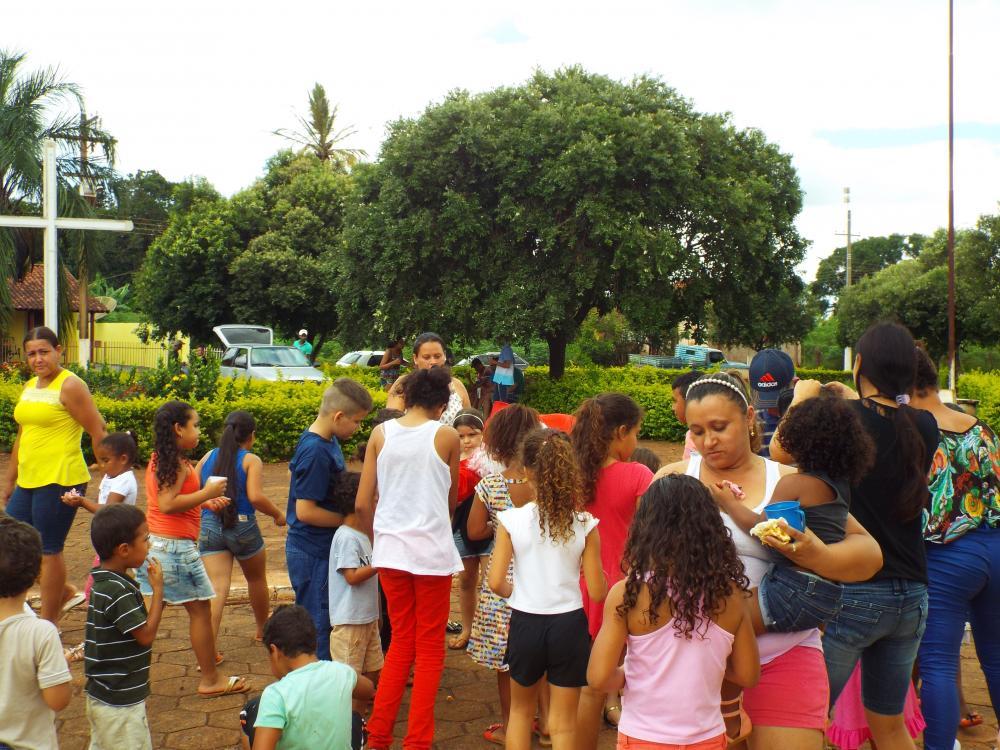 Festa das crian�as em Boturuna