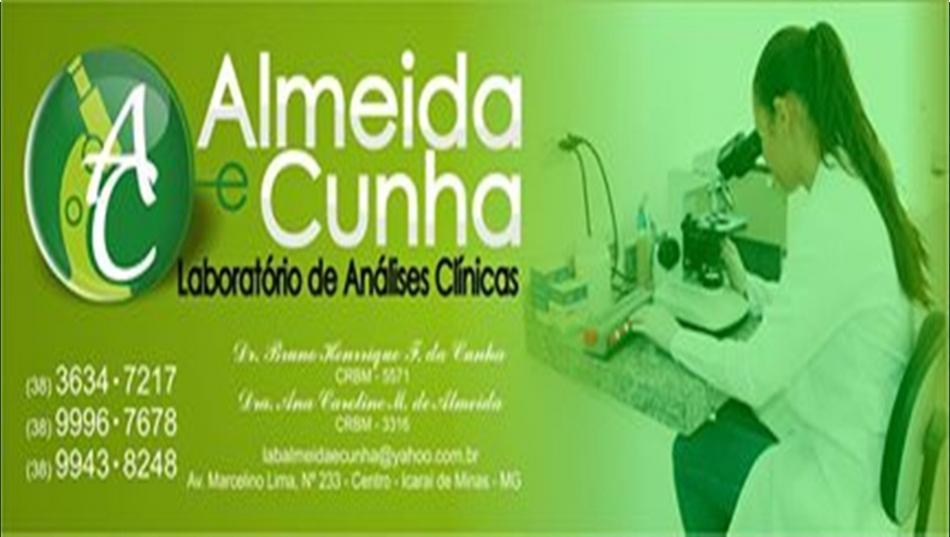 LABORATORIO ALMEIDA E CUNHA ICARAI DE MINAS