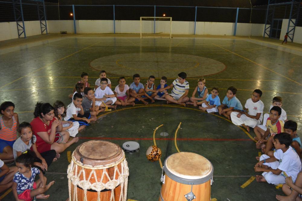 As aulas de capoeira voltaram!