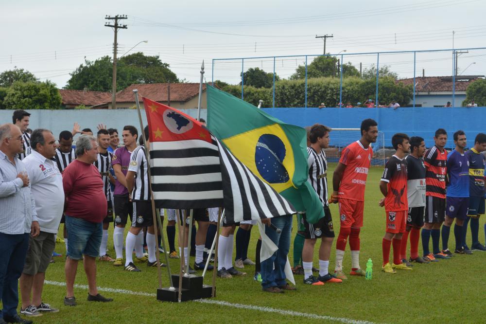 Abertura do Campeonato Municipal de Futebol