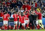 País de Gales vence Bélgica de virada e se garante nas semis da eurocopa