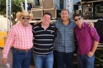 Equipe da Poléia FM  na 6° Queima do Alho de Palestina