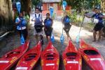 Escola Municipal de Canoagem desenvolve o Ecoturismo em Macaé