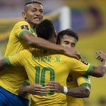 BRASIL:  5  X  0  BOLÍVIA:  BRASIL GOLEIA A BOLÍVIA NA ESTREIA DAS ELIMINATÓRIAS DA COPA DO MUNDO CATAR 2022.