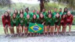 Seleção Brasileira Feminina treinando em Pinheirão