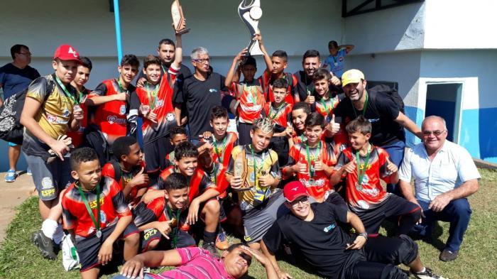 Severínia é campeã na categoria Sub-13 na final da Copa Três Rios