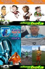 OUÇA ÀS 20:15  HORAS O PROGRAMA ESPORTIVO SHOW DE BOLA FUTEBOL CLUBE PELAS ONDAS DA RÁDIO TRANS FM 87,9.