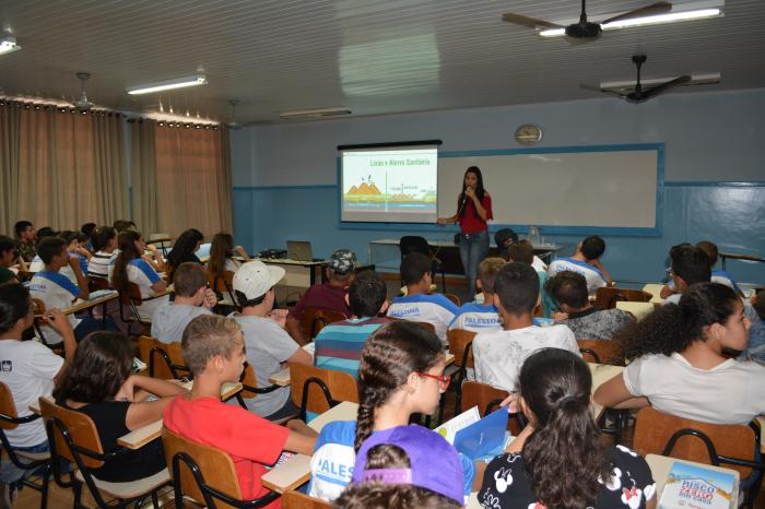Escola Valentin Alvares e Tereos (Usina Guarani) uma pareceria em prol da qualidade de vida