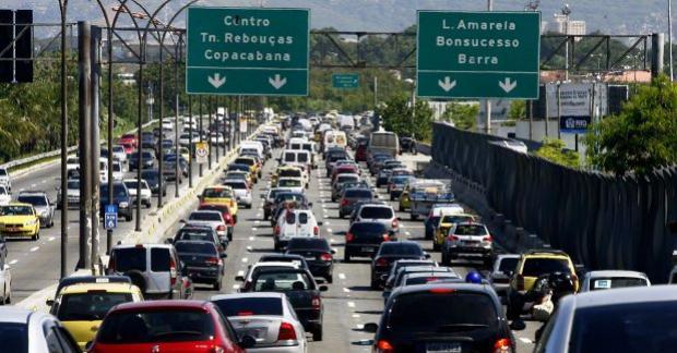 Começa hoje aqui no Rio a operação especial de trânsito para o fim de ano.