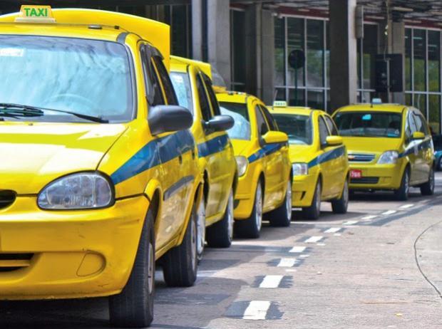 Corrida de táxi no Rio fica mais cara a partir do dia dois de janeiro.